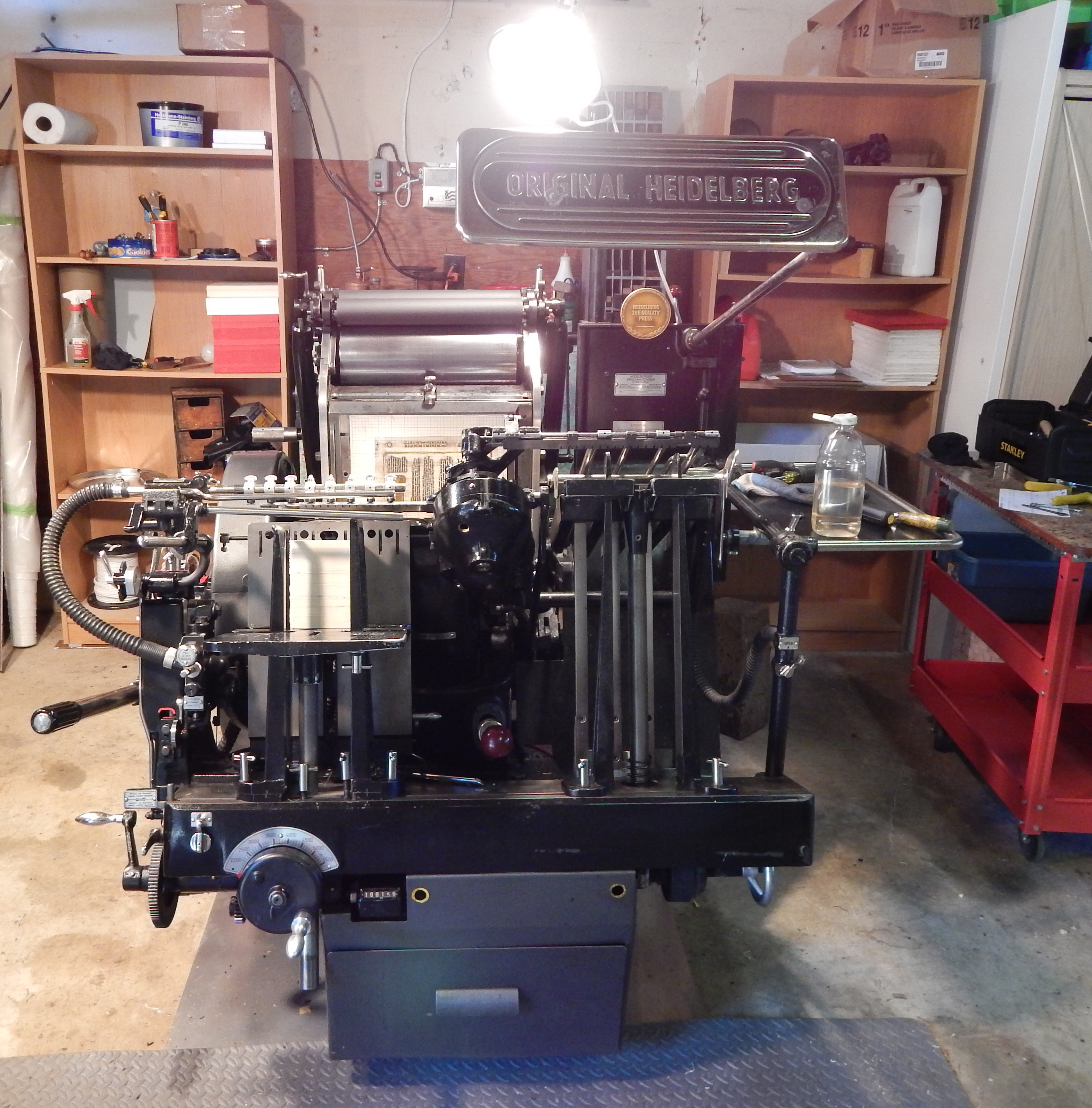 Winfield printing letterpress printing victoria bc planet earth the heidelberg platen press a marvel of mechanical engineering and the finest platen letterpress printing machine ever made reheart Gallery